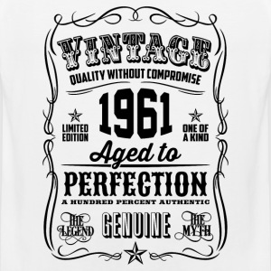 Vintage 1961 Aged to Perfection 55th Birthday gift - Men's Premium Tank