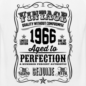 Vintage 1966 Aged to Perfection 50th Birthday gif - Men's Premium Tank
