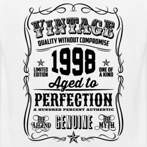 Vintage 1998 Aged to Perfection 18 Birthday gift - Men's Premium Tank