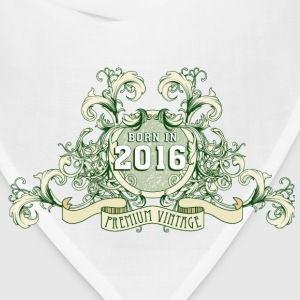 042016_born_in_the_year_2016c Baby Bodysuits - Bandana