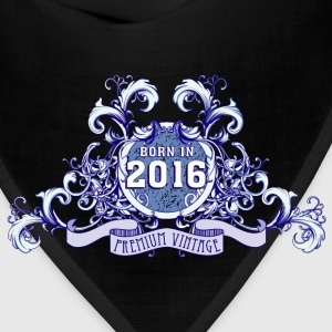042016_born_in_the_year_2016b Kids' Shirts - Bandana
