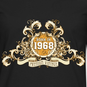 042016_born_in_the_year1968_a T-Shirts - Men's Premium Long Sleeve T-Shirt