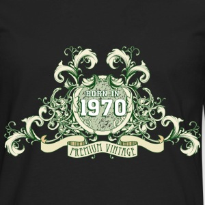 042016_born_in_the_year1970_c T-Shirts - Men's Premium Long Sleeve T-Shirt