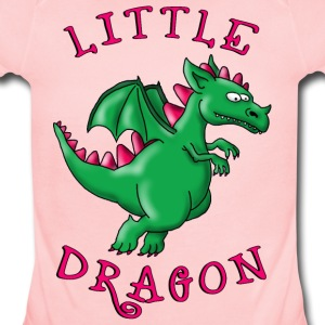little_dragon_04201602 Kids' Shirts - Short Sleeve Baby Bodysuit
