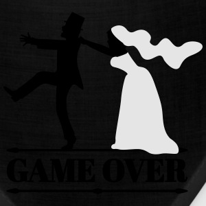 game over bride and groom T-Shirts - Bandana