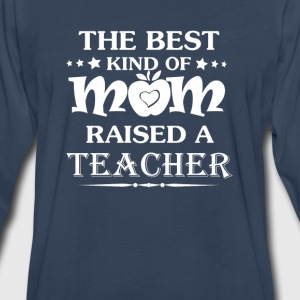 TEACHER'S MOM - Men's Premium Long Sleeve T-Shirt
