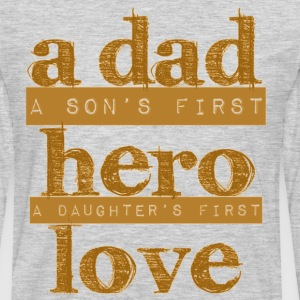 DAD - Son - Daughter - Men's Premium Long Sleeve T-Shirt