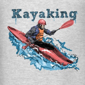 Kayak Hoodies - Men's T-Shirt