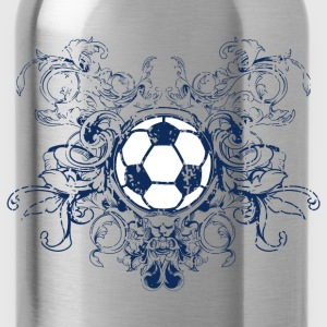 vintage_ball_sport_042016_fussball_a Women's T-Shirts - Water Bottle
