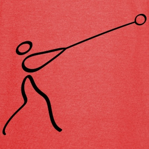 Athletics Hammer Throw Pictogram Bags & backpacks - Vintage Sport T-Shirt