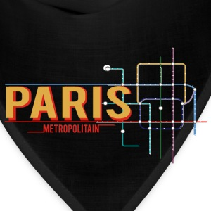 paris-metro-plan Tanks - Bandana