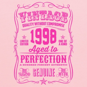 Vintage 1998 Aged to Perfection 18th Birthday Women's T-Shirts - Kids' Hoodie