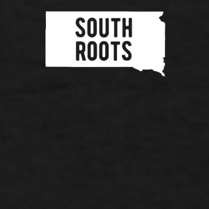 South Dakota South Roots State T-shirt Mugs & Drinkware - Men's T-Shirt