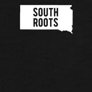 South Dakota South Roots State T-shirt Mugs & Drinkware - Men's Premium T-Shirt