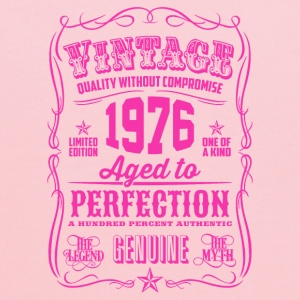 Vintage 1976 Aged to Perfection 40th Birthday - Kids' Hoodie