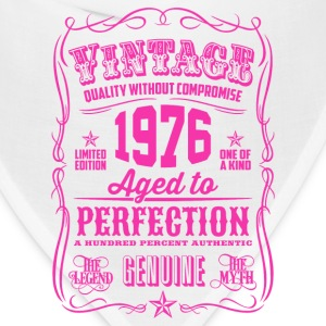 Vintage 1976 Aged to Perfection 40th Birthday - Bandana