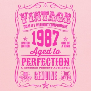Vintage 1987 Aged to Perfection 29th Birthday - Kids' Hoodie