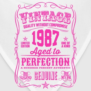Vintage 1987 Aged to Perfection 29th Birthday - Bandana