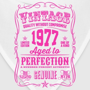 Vintage 1977 Aged to Perfection 39th Birthday - Bandana