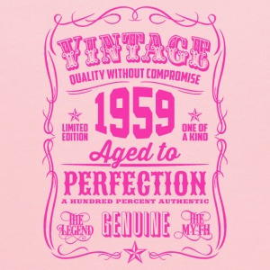Vintage 1959 Aged to Perfection 57th Birthday - Kids' Hoodie