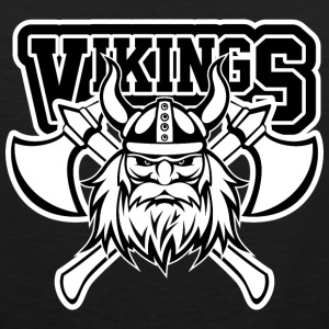 Vikings Axe Crossed T-Shirts - Men's Premium Tank