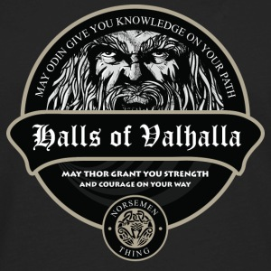 Halls Of Valhalla T-Shirts - Men's Premium Long Sleeve T-Shirt