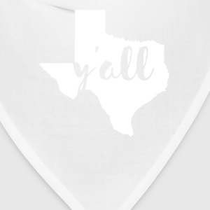 Texas Y'all State T-shirt Women's T-Shirts - Bandana