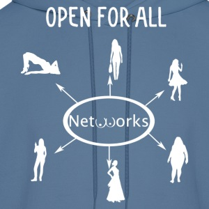 Open for all networks 2 - Men's Hoodie