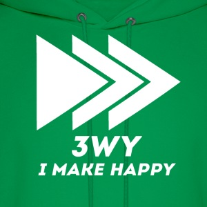 I make Happy - Men's Hoodie