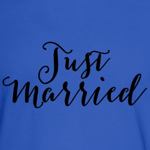 Just Married Tanks - Men's Long Sleeve T-Shirt