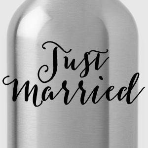 Just Married Tanks - Water Bottle