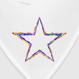 Coloured Star - Bandana