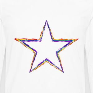 Coloured Star - Men's Premium Long Sleeve T-Shirt