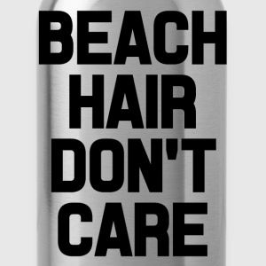 Beach Care Don't Care funny saying shirt - Water Bottle