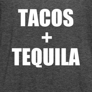 Tacos and Tequila funny saying shirt - Women's Flowy Tank Top by Bella