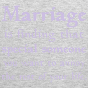 MARRIAGE IS... T-Shirts - Men's Premium Tank