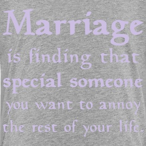 MARRIAGE IS... Kids' Shirts - Toddler Premium T-Shirt