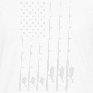 FISHING FLAG Caps - Men's Premium Long Sleeve T-Shirt