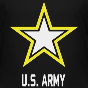 US Army Hoddie black kids - Toddler Premium T-Shirt