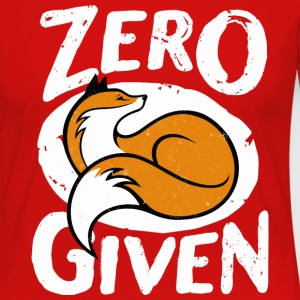 Zero fox given - Women's Premium Long Sleeve T-Shirt