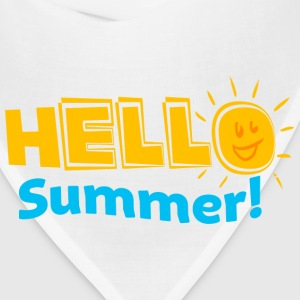 Kreative In Kinder Hello Summer! Women's T-Shirts - Bandana