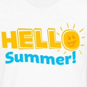 Kreative In Kinder Hello Summer! Women's T-Shirts - Men's Premium Long Sleeve T-Shirt