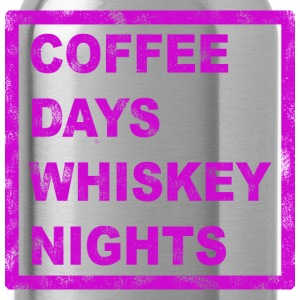 COFFEE DAYS AND WHISKEY NIGHTS Hoodies - Water Bottle