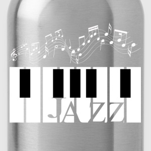 Jazz Piano Design  - Water Bottle