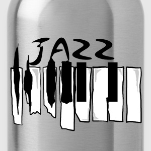 Broken Jazz Piano  - Water Bottle