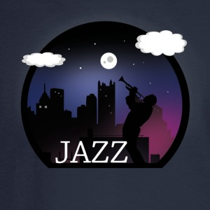 Vector Jazz Design - Men's Long Sleeve T-Shirt