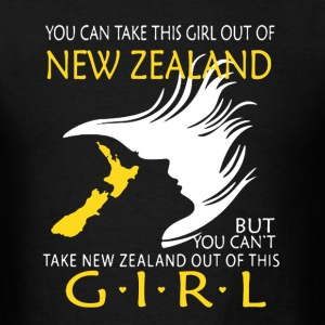 New Zealand Girl Shirt - Men's T-Shirt