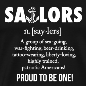 Sailor Shirt - Men's Premium T-Shirt