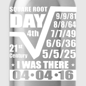 Square Root Day Shirt - Water Bottle