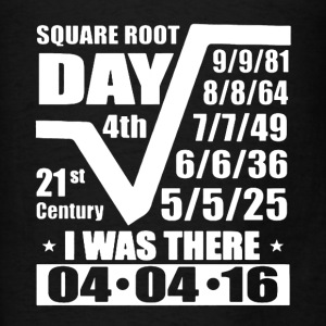 Square Root Day Shirt - Men's T-Shirt